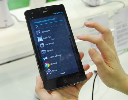 "Acer is set to compete with ASUS and Samsung in the ""phablet"" market with its 5.7-inch Liquid S1."