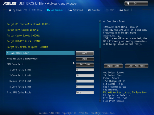The UEFI BIOS, Software, and Benchmarks : ASUS Z87-DELUXE