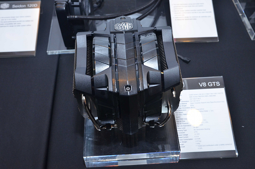 Here's the Cooler Master V8 GTS, a powerful CPU cooler that's compatible with Intel's new LGA 1150 socket
