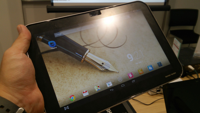 The Toshiba Excite Write is a 10.1-inch tablet with a high resolution display, a Wacom technology digitizer and runs on the latest NVIDIA Tegra 4 processor.