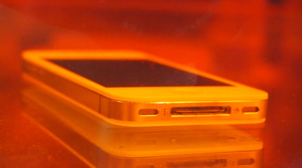 "The Apple iPhone is immersed fully in the water with its ports ""exposed"" to water, yet it is still usable thanks to DayWired 101X nano-coating."