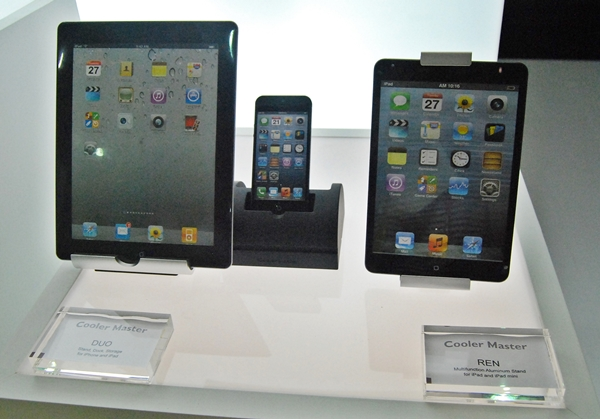 The Duo and Ren series of docks and stands for iOS devices.