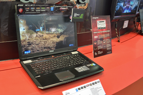 MSI's GT 70 is just about the best performing gaming notebook you can get your hands on today