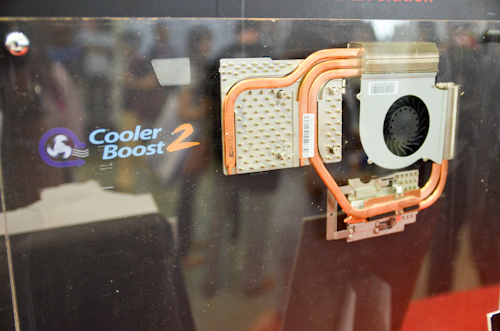 Cooler Boost 2 is the addition of a heatpipe between the CPU and GPU for better heat dissipation