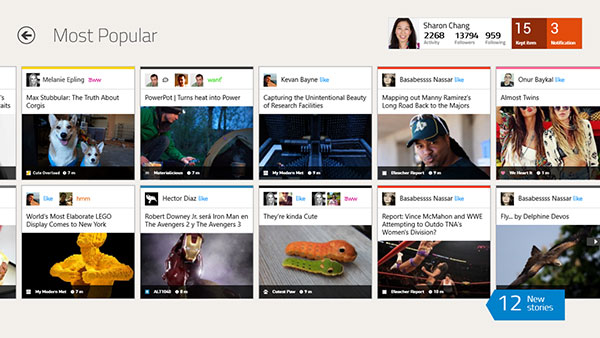 Social networking browser Rockmelt is now in the Windows Store.