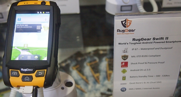 The RugGear Swift II RG 210 costs S$650.