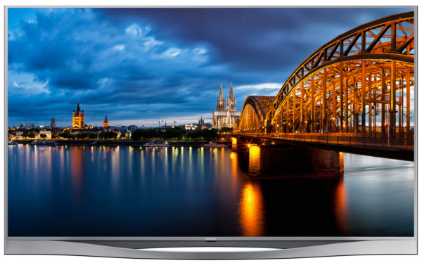 55-inch Series 8 LED UA55F8500AK (Image source: Samsung.)