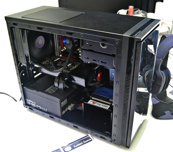 The Silencio 352 chassis is ideal for a compact form factor desktop system with noise-dampening features. It will certainly appeal to gamers and system builders looking for that whisper-quiet rig!