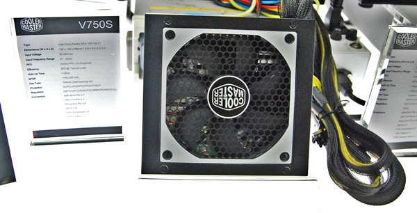The Cooler Master V750S PSU.