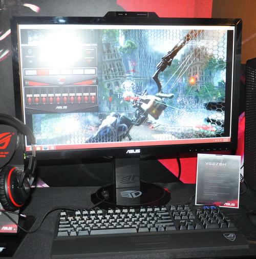 Asus Displays Vg248qe And Vg278h Gaming Monitors At