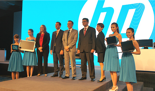 HP unveiled a wide range of new products running on various OSes and powered by various processors and in all sorts of form factors.