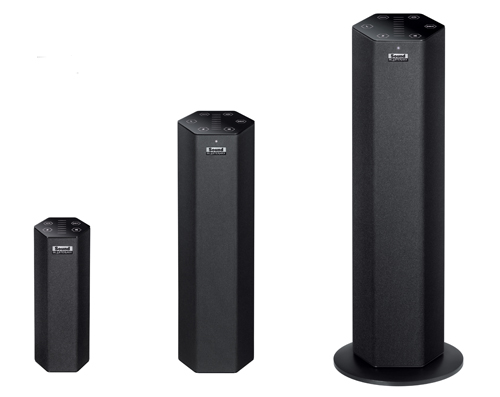 The Sound Blaster Axx speakers are a perfect example of Creative's Bluetooth enabled, wireless audio products.