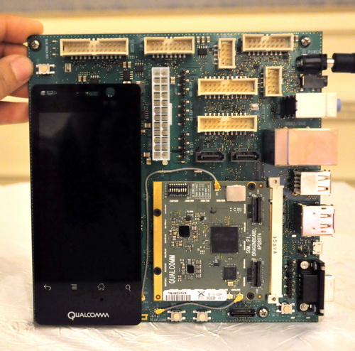 The Qualcomm DragonBoard platform comes in mini-ITX form factor.