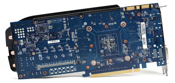 Gigabyte is using the reference PCB on this card.