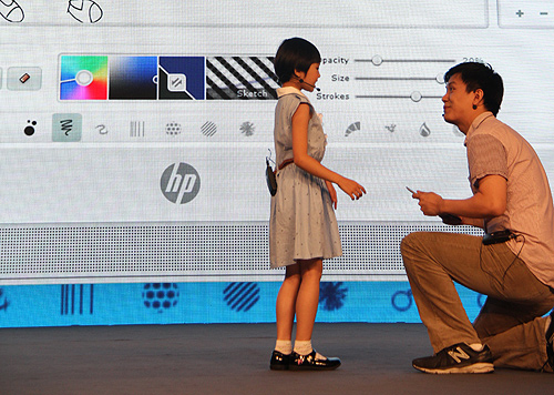 Besides reaching out to consumers, HP is also dedicated to offering younger learners education content and high-quality printing at a low cost