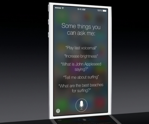 Siri in iOS 7 gets a new look and new functionality.
