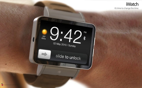 Shown here is the alleged Apple iWatch. (Image Source: Google)