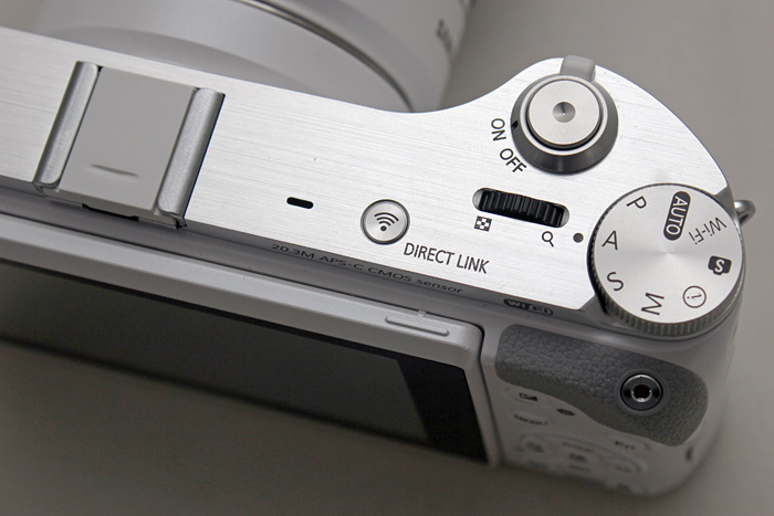 The control dial is placed at an uncomfortable angle - and those edges are sharp.