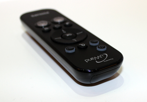 The Philips uWand remote control uses a camera as opposed to a gyroscope to control the on-screen cursor for your TV.