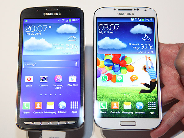 Compare Phones Side By Side >> Hands On Samsung Galaxy S4 Active Hardwarezone Com Sg