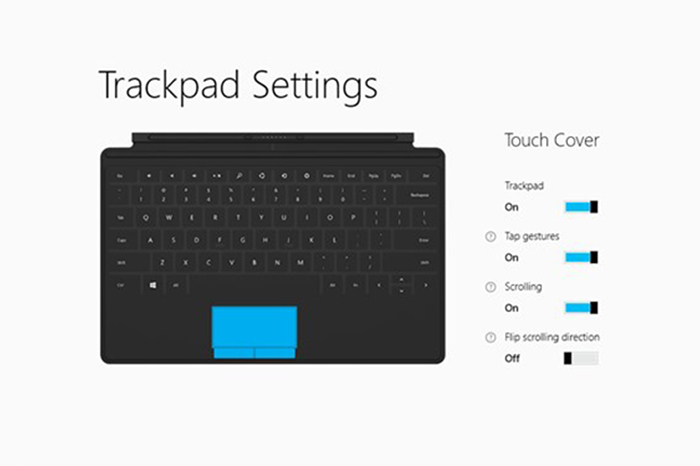 Want to turn off the Type or Touch Cover's trackpad? There's an app for that.