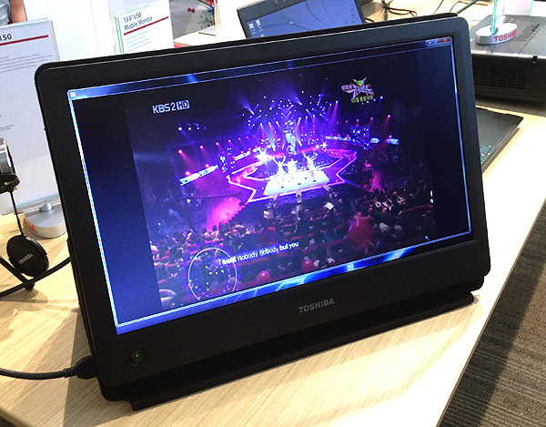 The USB Mobile LED Monitor requires only a single USB port to work.