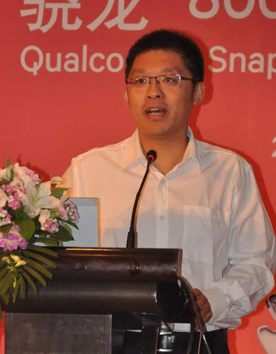 Qualcomm's Product Marketing Director Yufei Wang emphasizes that Snapdragon 800 processors are future-ready because of their capability to support 4K resolution videos.