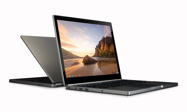 The Chromebook Pixel is a top-end Chromebook introduced by Google.