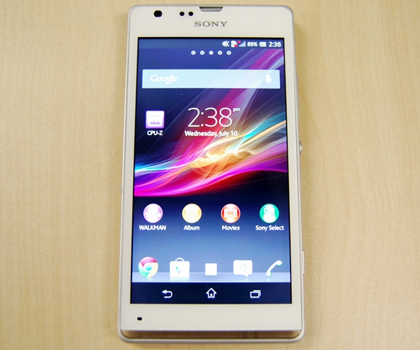 The Sony Xperia SP is priced at $598 (inclusive of GST) without line contract.