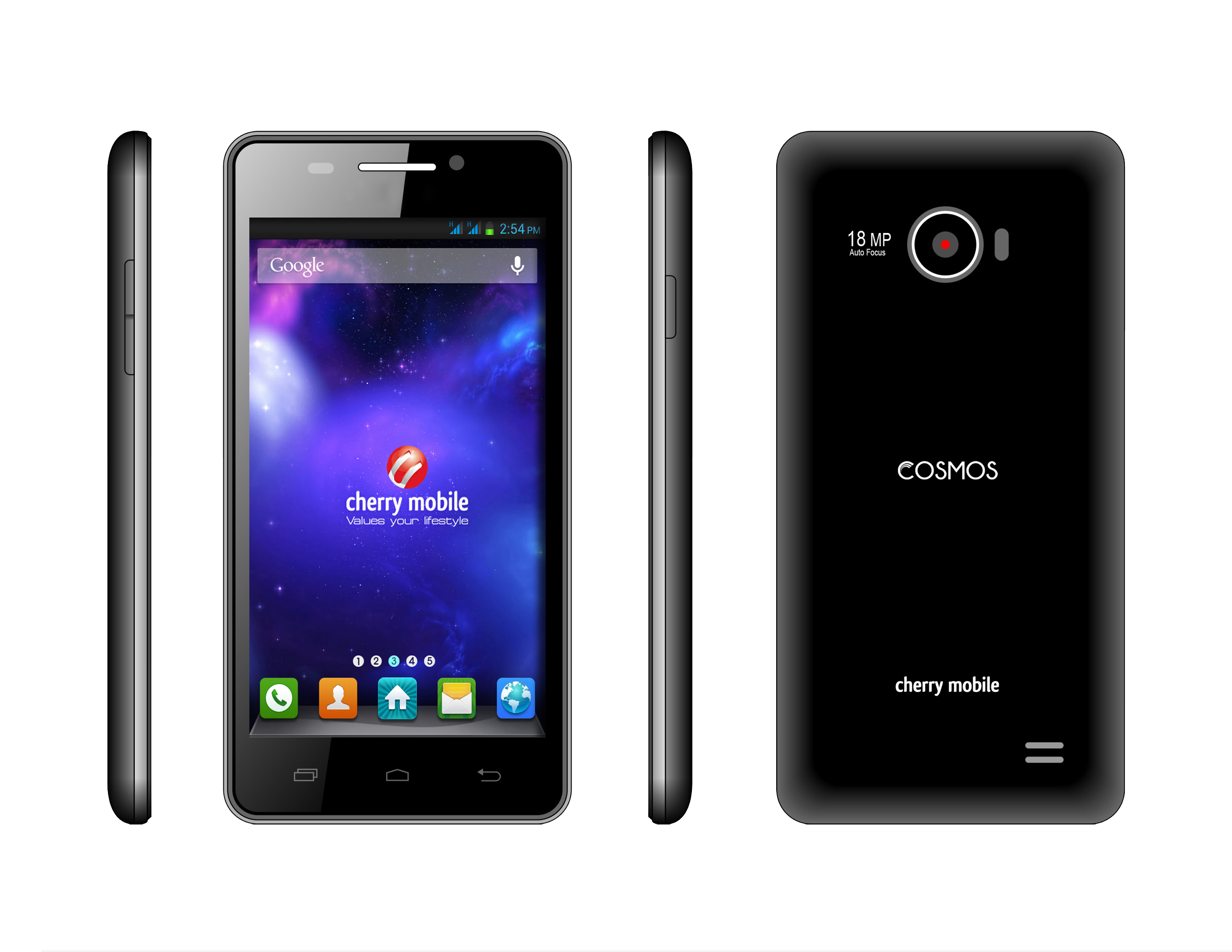 cherry mobile intros cosmos z with 5-inch full hd 1080p display