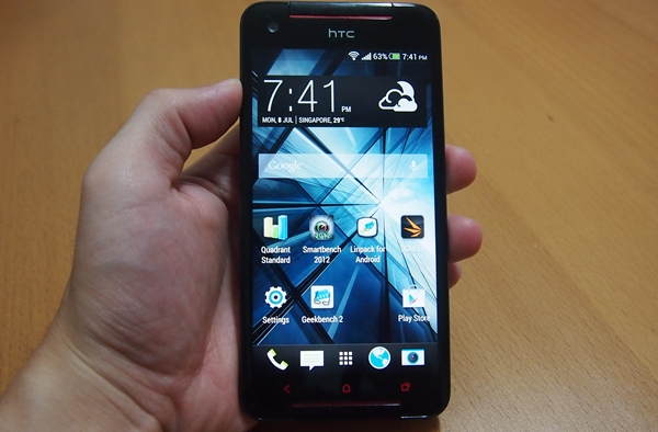 The HTC Butterfly S is a fine, handsome smartphone by every count.