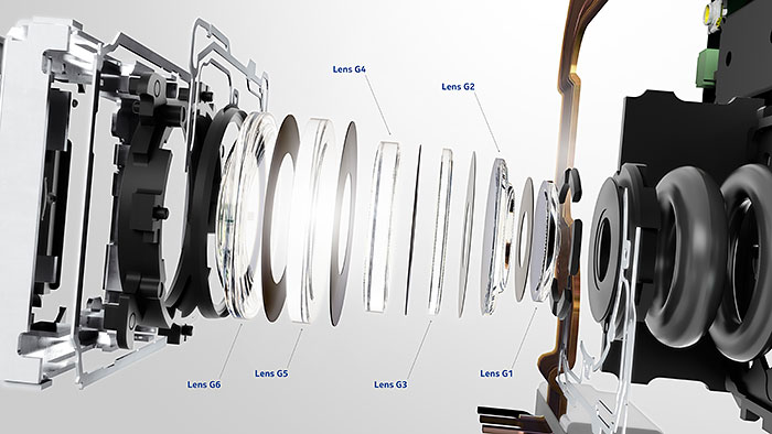 Nokia Lumia 925 lens assembly. (Image source: My Nokia Blog.)