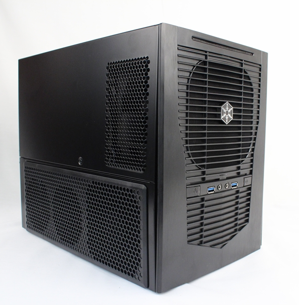 The SilverStone Sugo SG09 is a small form factor chassis with a unique interior layout. It boasts of a 23-liter volume capacity, and is able to fit a pair of 13.3-inch graphics cards for a high performance compact gaming system.