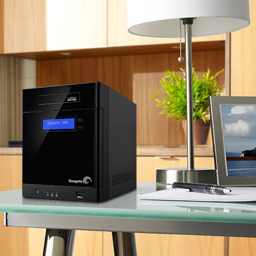 4-bay Business Storage (Image source: Seagate.)
