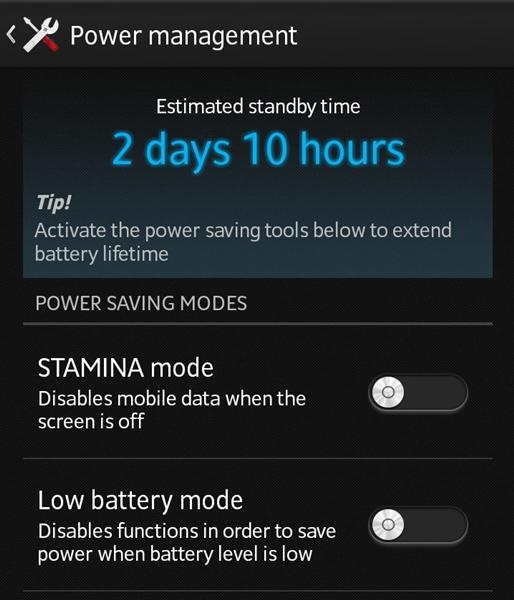 Sony's Stamina Mode.
