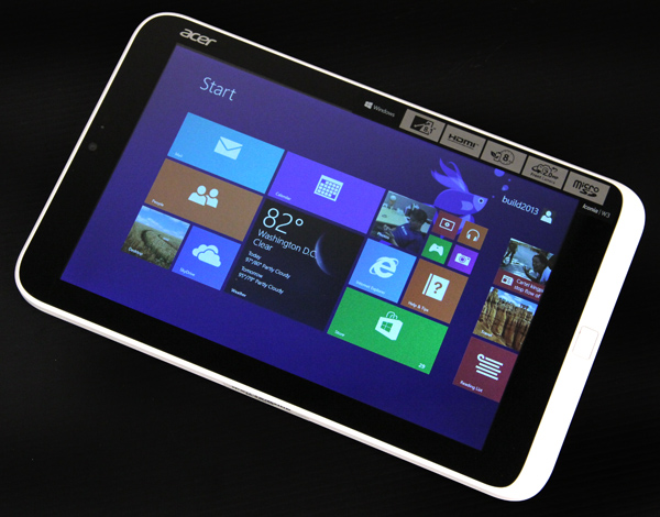 Windows 8 can work on an 8-inch tablet, just not this one.