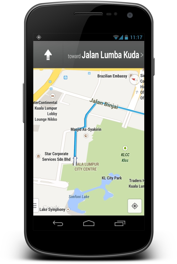 Google Maps for Android Now Supports Turn-by-Turn ...