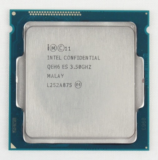 The Intel Core i7-4770K processor might have a higher TDP than its predecessor, but it sports similar clock speeds. Fortunately, its IGP has been upgraded slightly and is much more feature-rich, power efficient and capable of some decent gaming as you'll soon find out.