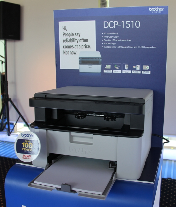 With the features it has and the price tag it comes in at, the DCP-1510 is a good choice for environments that require just a simple printer