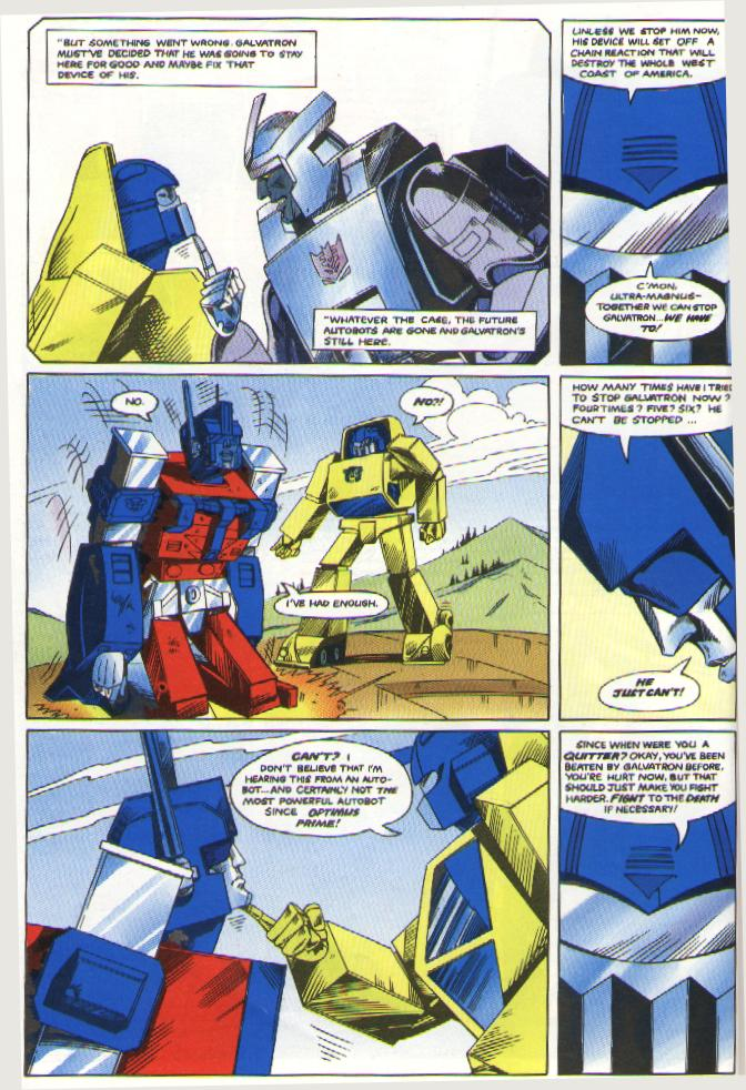 Did I mention that Ultra Magnus was kinda emo in the UK version? And the cheesy dialogue?