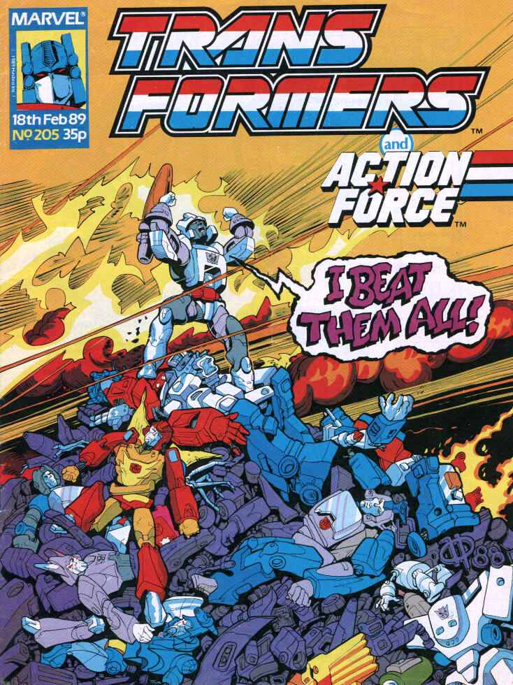 Time Wars, one of the best story arcs in the Transformers UK run.