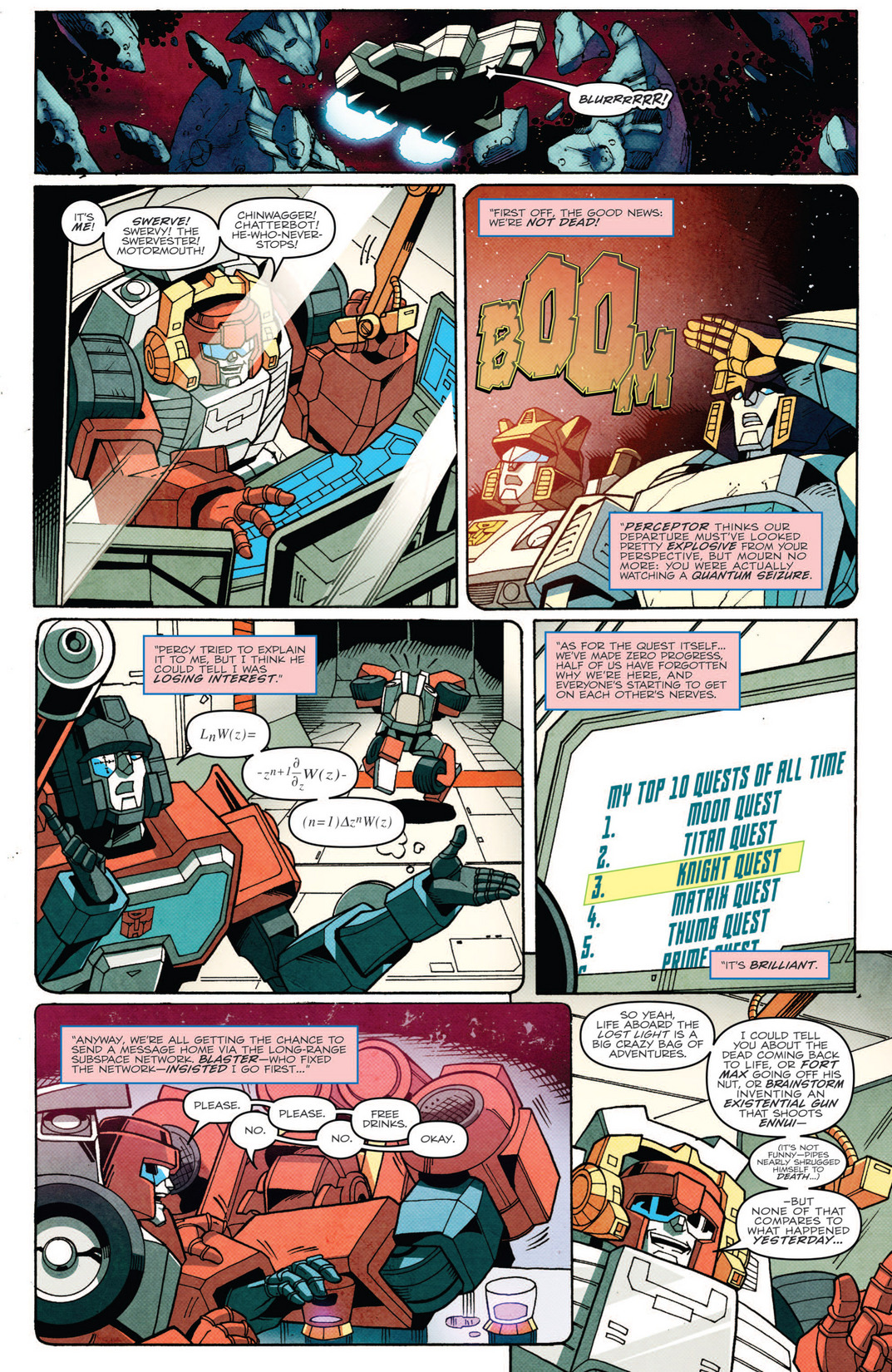 The dialogue is snappy and the art looks great. Go for it.