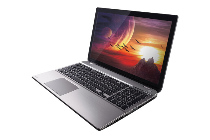 The Toshiba Satellite P50 is touted to be one of the world's slimmest 15.6-inch notebook with discrete graphics -- for now.