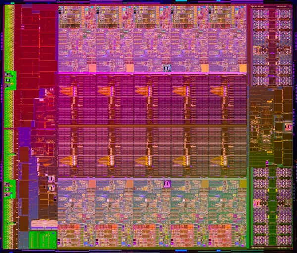 Die Shot - Intel Xeon Processor E5-2600 v2 Series (Image Source: Intel)
