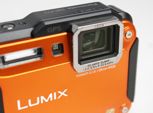 The lens window tends to attract fingerprints, so remember to clean it frequently.