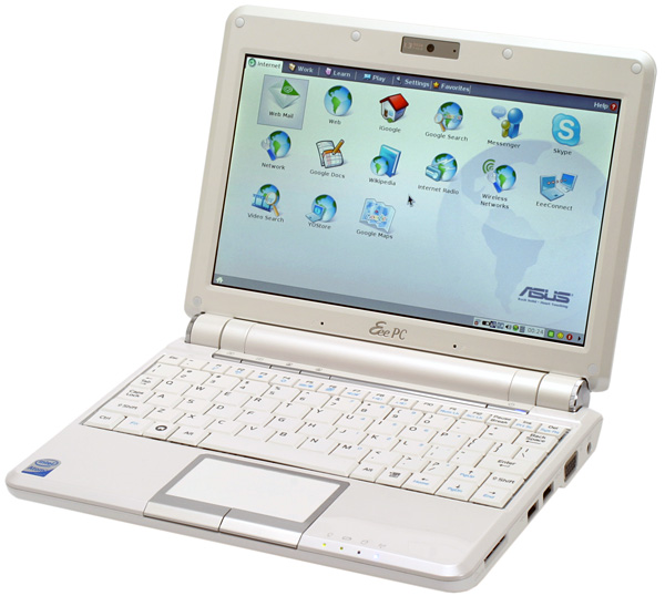 The ASUS Eee PC was one of the first netbooks.