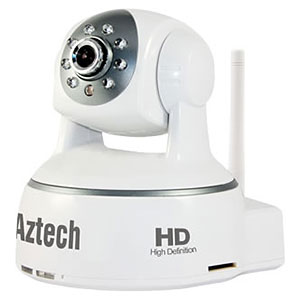 Aztech WIPC408HD Wireless-N Pan/Tilt IP Camera