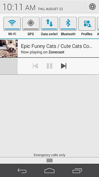 Cast from Apps & Conclusion : Google Chromecast - A Tiny