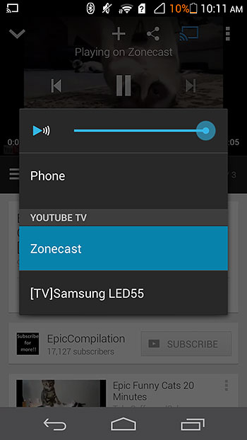 Cast from Apps & Conclusion : Google Chromecast - A Tiny