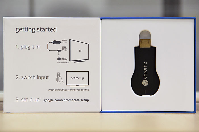 Simply put, the Google Chromecast is an HDMI streaming media dongle.